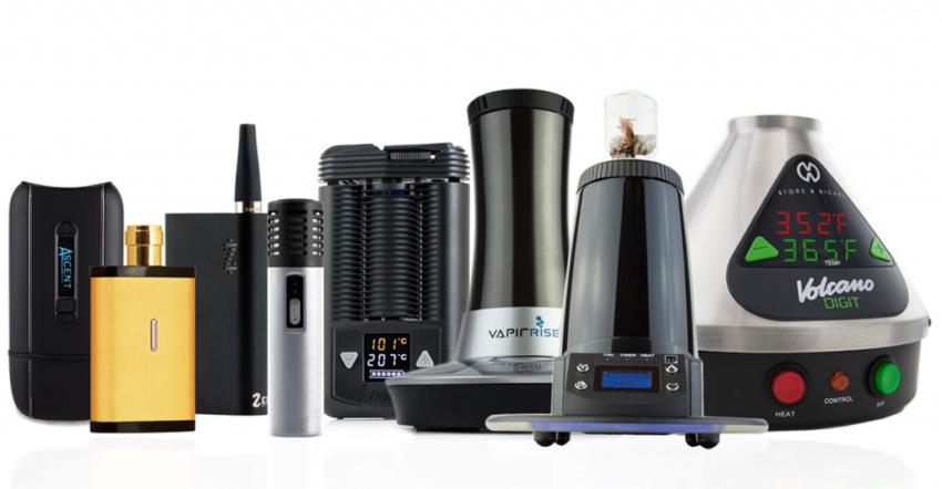 desktop and portable vaporizer types