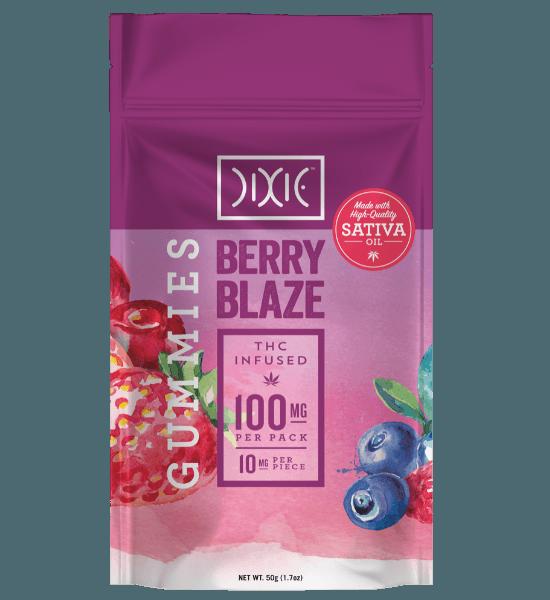 Berry Blaze gummies