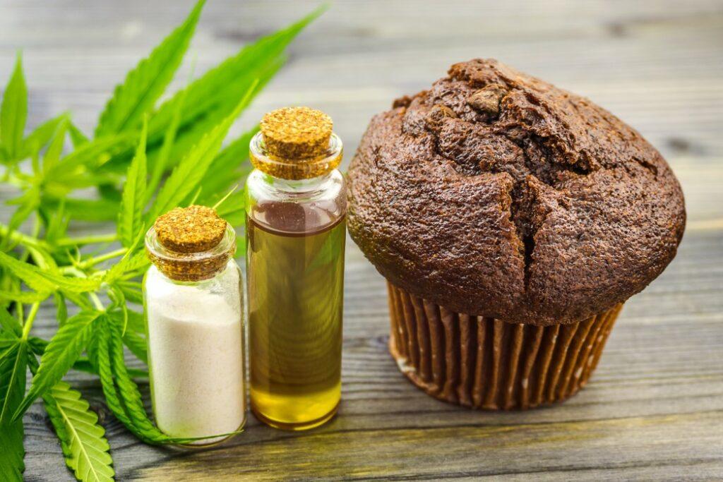 muffin cannabis edible